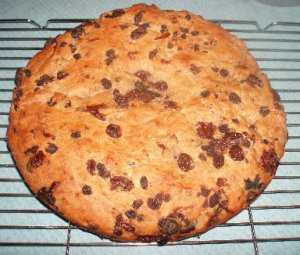 baked barm brack