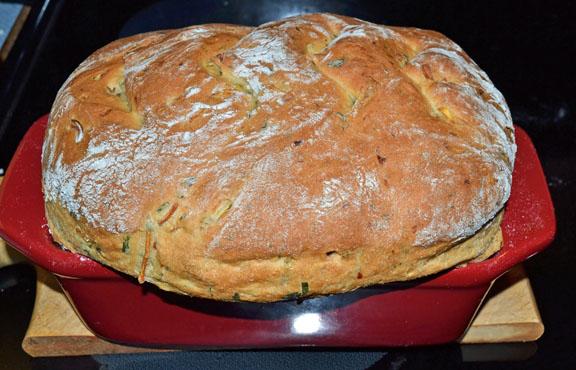 Zucchini Ricotta Bread