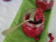 Winter Canning – Cranberry Orange Relish