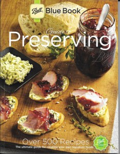 ball blue book canning recipes