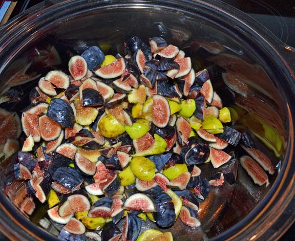 chopped figs
