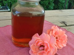 Make Your Own Rose Syrup