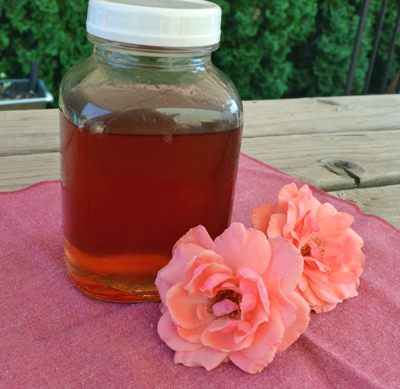 rose flavored syrup