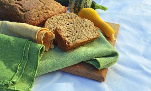 sourdough zucchini bread