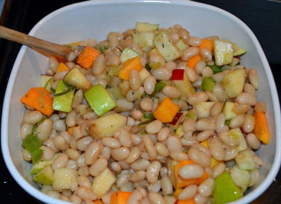 Thanksgiving bean casserole
