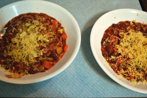 Vegetarian or Vegan Chili Recipe_image