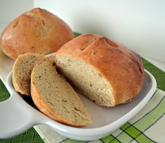 springtime herb bread