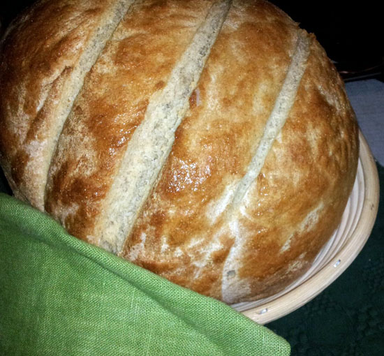 Greek Country Bread