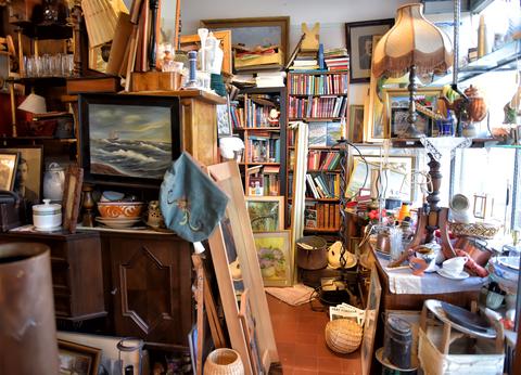 room full of stuff