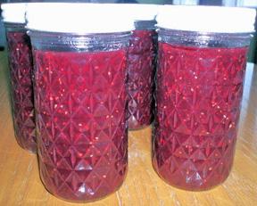 strawberry raspberry honey syrup