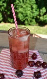 sweet cherry shrub