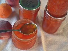 Honey Peach Apricot Jam