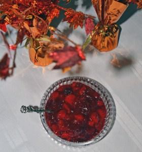 cranberry persimmon sauce