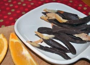 chocolate candied orange peel