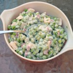 Pea Salad Recipe without Bacon