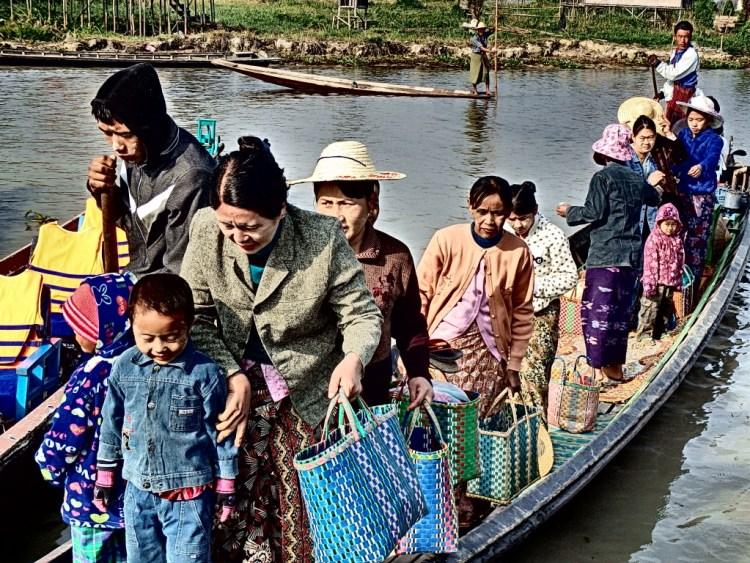 people of Lake Inle, Burma things to do in lake inle