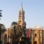 2 Days in Arequipa Peru will allow you to explore the beautiful Whte City, white water raft the Rio Chili, and eat guinea pig. One of best places in Peru!