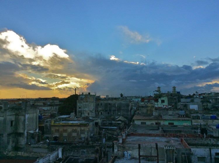 View of Havana from my rooftop cuba budget travel guide and advice cuba travel blog for solo female
