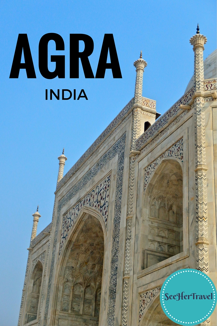 The Taj Mahal is not the only wonder to be found in Agra, India! A travel blog from See Her Travel