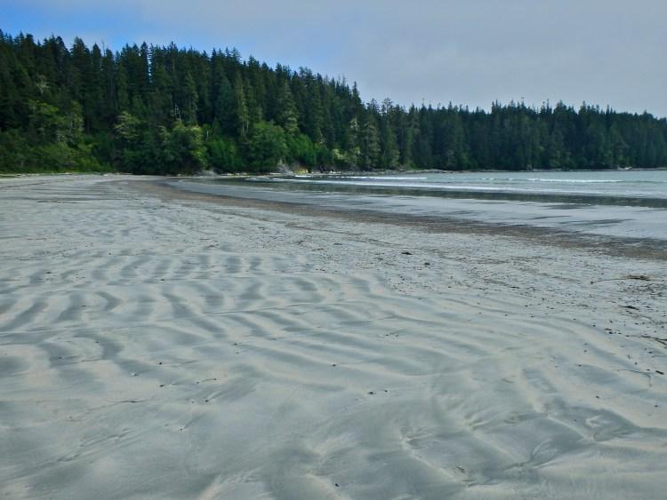 West coast trail beaches campsites