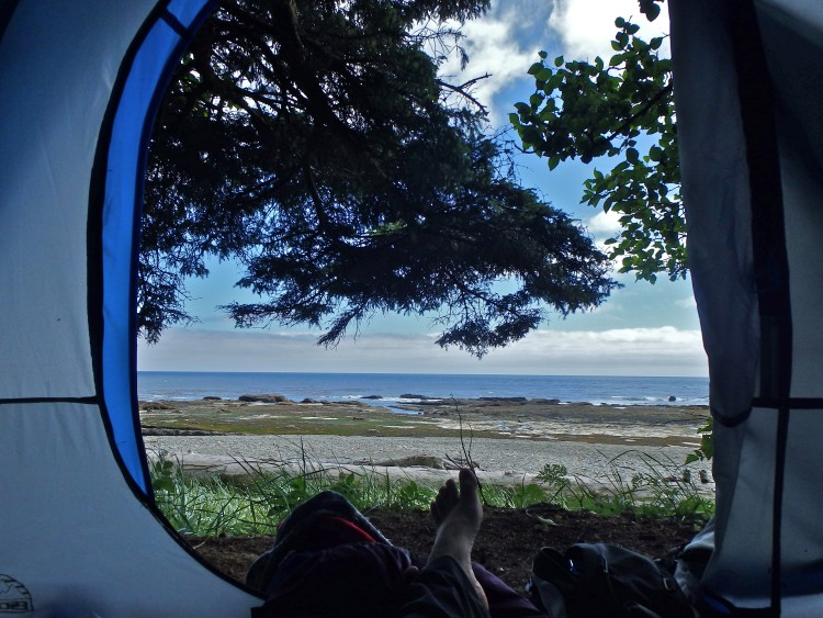 West Coast Trail campsites