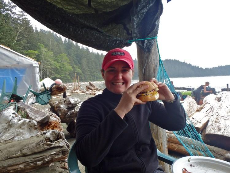 West Coast Trail food