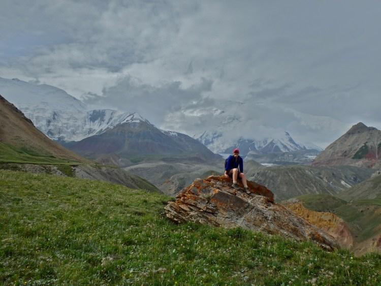 Peak Lenin Region, Pamir mountains, Kyrgyzstan
