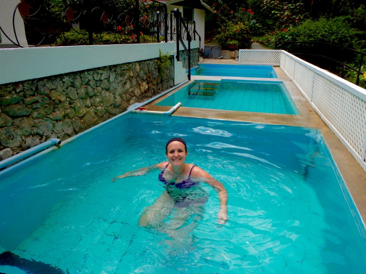 mineral pools in soufriere st. lucia