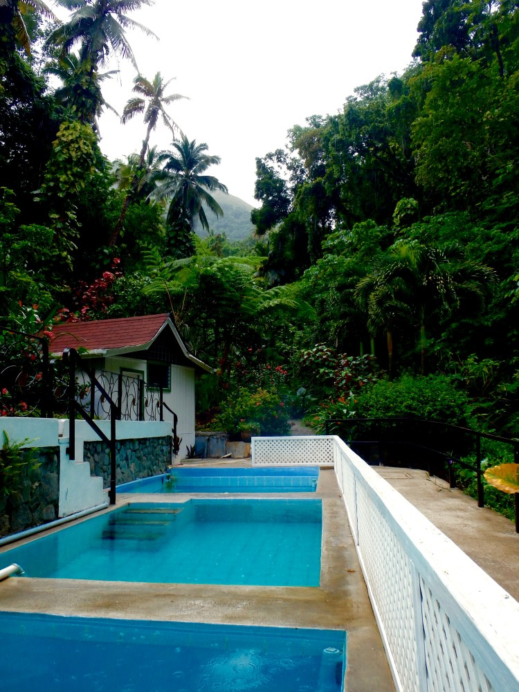 Diamond mineral pools st. lucia