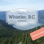 Whistler Canada is known for extreme snow sports and gorgeous alpine scenery, but it also has many activities for the non-skier! Things to do in Whistler that don't involve the snow! Or athleticism of any kind!