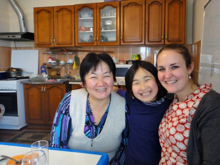Emily's kyrgyz family