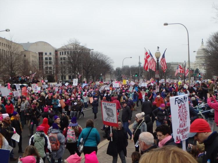 womens march on washington DC