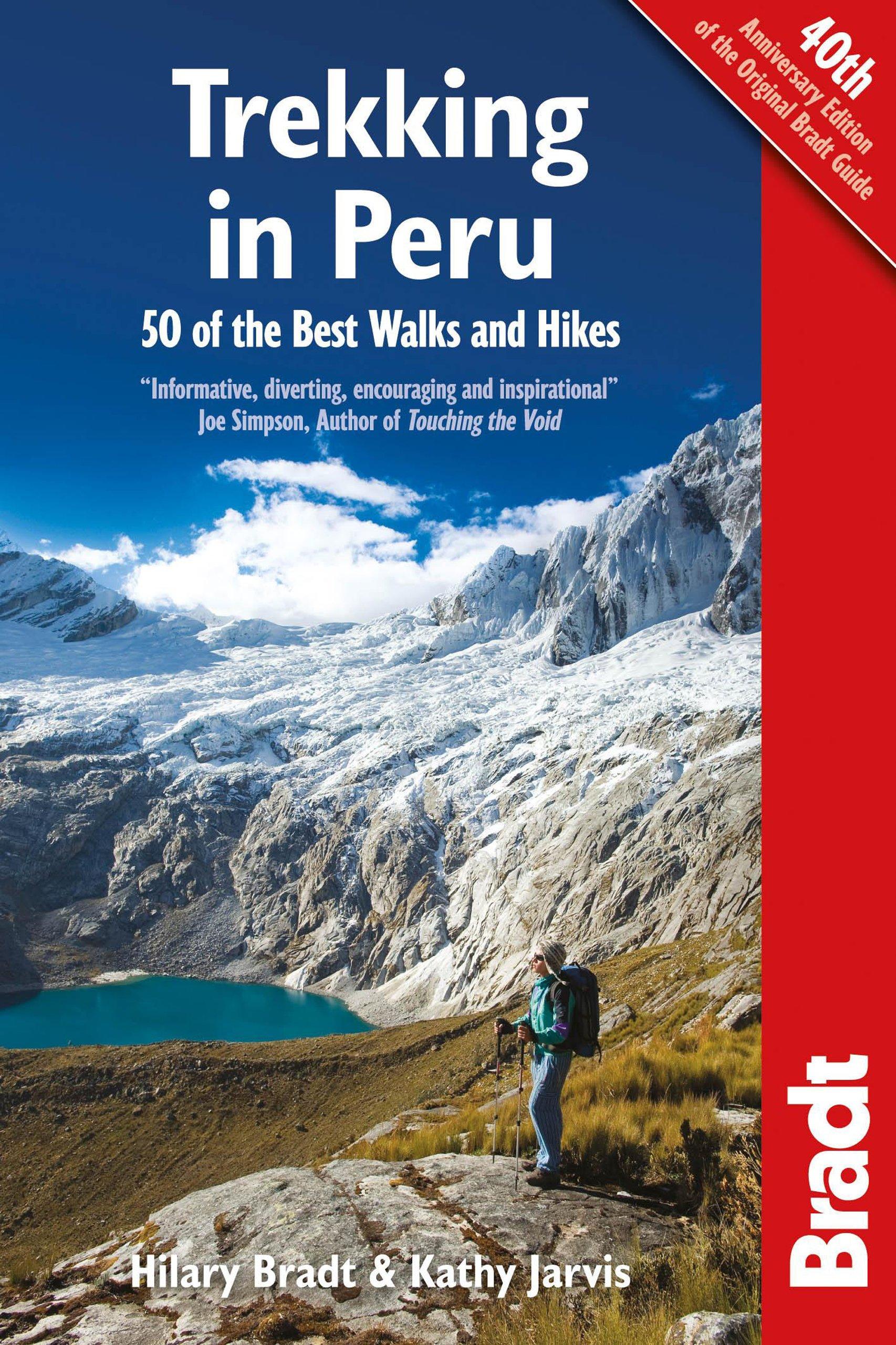 trekking in peru guidebook