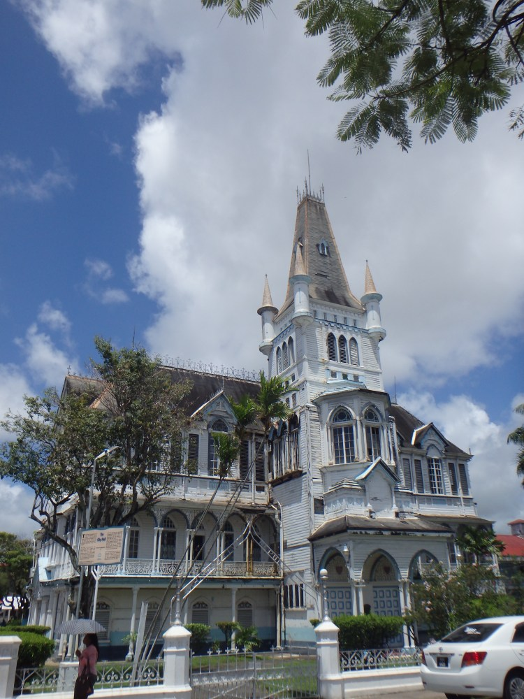 Georgetown City Hall architecture in guyana capital