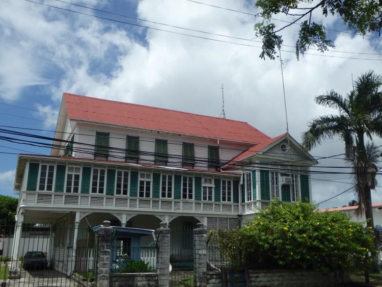 Georgetown Guyana Architecture walking tours Guyana