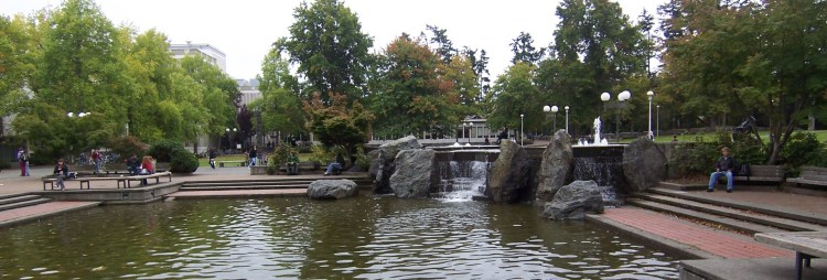 tour UVic campus university of victoria free things to do in Victoria