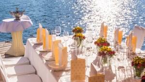 Das Bootshaus für exklusive Veranstaltungen im Sommer und Winter.
