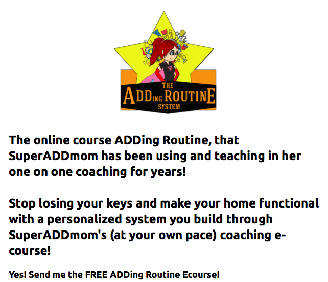 The ADDing Routine System