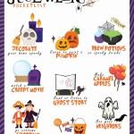 Family Halloween Bucket List Free Printable Seeing Dandy