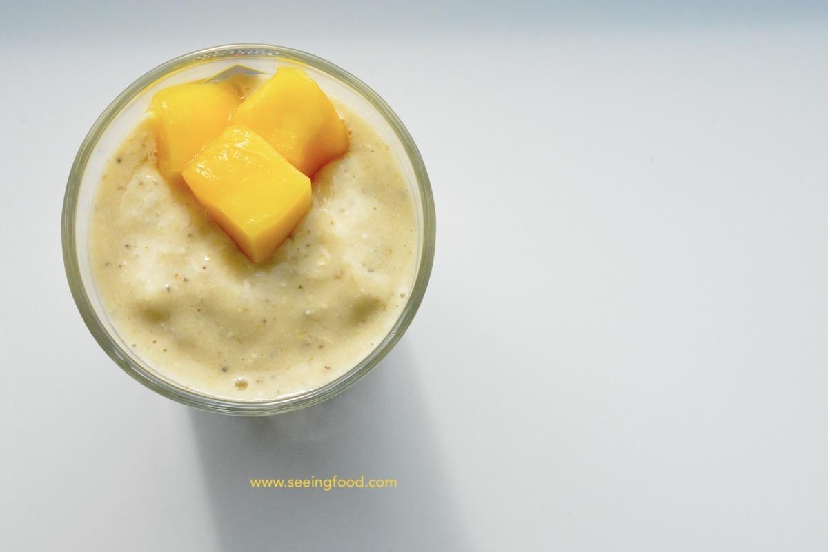 Mango chia zaad smoothie