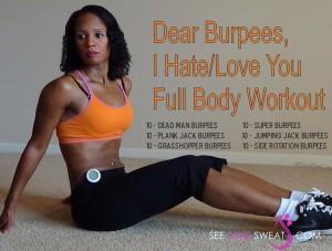 Dear Burpees