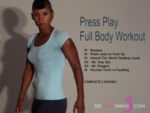 Press Play Full Body Workout