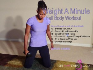 Weight A Minute Full Body Workout