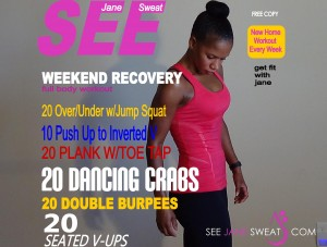 Weekend Recovery Full Body Workout