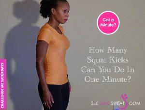 Challenge Squat Kicks