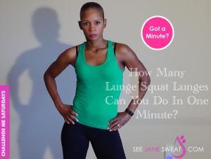 Challenge Lunge Squat Lunge