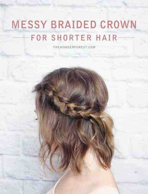 simple-up-do-min 10 Medium Length Hairstyles that look great on ANYONE!