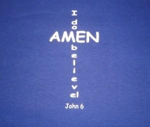 All God's people said amen
