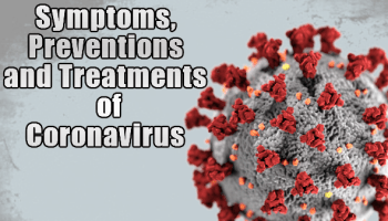 coronavirus with a head and tail