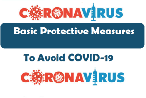 Coronavirus disease (COVID-19) advice for the public (Basic Protective Measures)